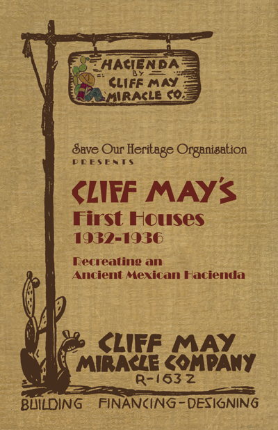 Cliff May tour booklet cover